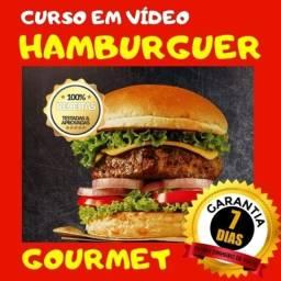 Receitas Incríveis (Curso em Vídeo) de Hamburguer e sandubas Gourmet
