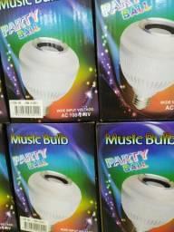 Lâmpada  caixa de som