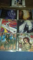 Lote com 7 CDs dos melhores Guitarristas 90,00 reais