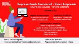 Representante Comercial Claro Empresas