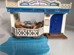 Sylvanian Families restaurante seaside