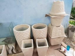Pacote de vasos de cimento
