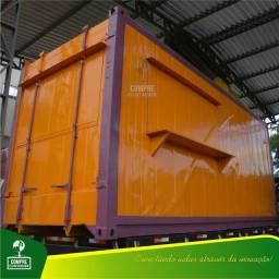 Lanchonete em container 15m²
