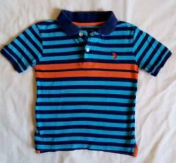 Combo 6 camisetas T.5-6 anos menino