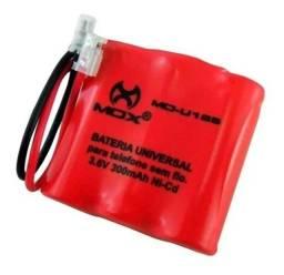 Bateria para Telefone Sem Fio Mox U107 3.6v 300mah
