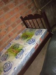 cama e colchão novos