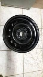 Roda aro 15 original Honda Fit de ferro (1 unidade disponível)