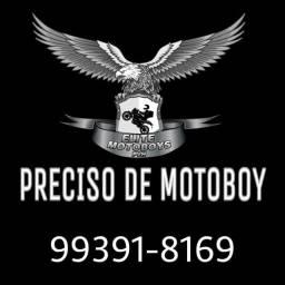Título do anúncio: Preciso de Motoboy