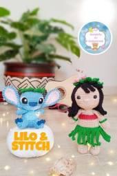 Lilo e Stitch Amigurumi