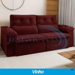 Sofá Retrátil Reclinável Carioca