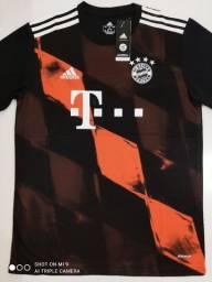 Camisa Bayern de Munique Third Adidas 20/21 - Tamanhos: P, M, G