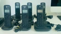 Vendo conjunto Telefones sem fio Motorola