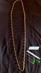Cordao de ouro 18k