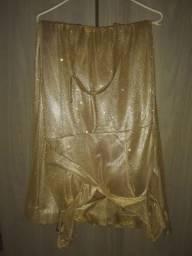 Vestido de festa comprado no bazar da valentina