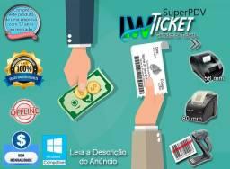 Sistema para eventos geração Tickets - prático