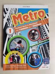 Livro ingles Usado Metro 1 Oxford 7° ano