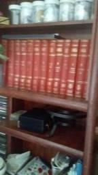 13livros da enciclopédia barsa.de 1973...de francês de1958..da moedas outro