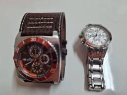 Kit 2 relógios Cassio e Kahuna