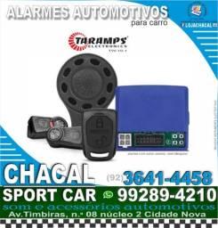 Título do anúncio: Alarme automotivo Taramps (novo e com nota fiscal)