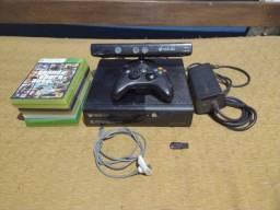 Xbox 360 + Kinect e 27 jogos