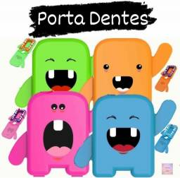 Porta Dente dentinhos de leite