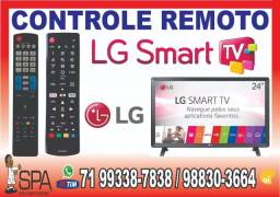 Controle Lg 32LJ500B (Teclas Netflix e Amazon)