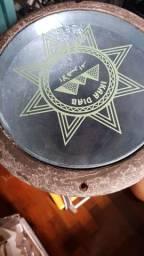 Percussão derbak importado + par de timbales