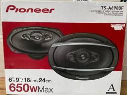 Alto falante pionneer lançamento original novo na embalagem garantia instalado