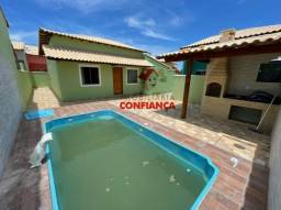 Za- bela casa com piscina em Unamar!