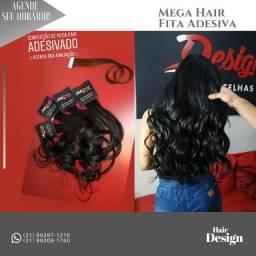 Mega Hair (Aplicação, Manutenção, Remoção)