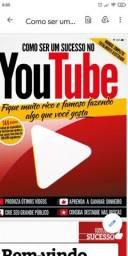 Livro como fazer sucesso no Youtube