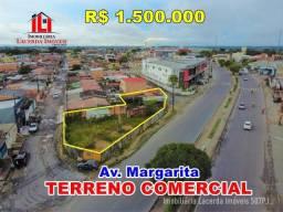 Terreno Comercial Com 495m² Na Avenida Margarita Manaus