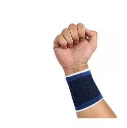 Par Tensor Munhequeira Elástica Proteção Contra Lesões Pulso