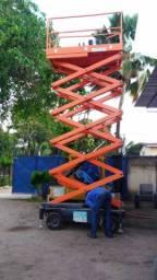 Plataforma Tesoura com 11mts de Elevação.