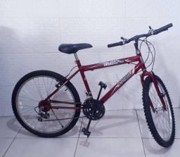 Bicicleta Aro 26 CAIRU FLASH 21 Marchas - freio V.Brake em Aço carbono
