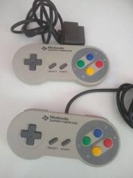 Controles originais super Nintendo