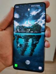 Smartphone Samsung Galaxy S10 completo
