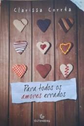Livro Para todos os amores errados