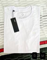 T-shirt Basica Algodão ( Tamanhos nas fotos)