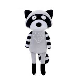 Boneco de Pelúcia Metoo Safari Guaxinim Original