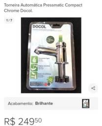Torneira automática Docol nova cromada lacrada pra vender logo