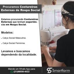 Título do anúncio: Costureiras Externas para Roupa Social