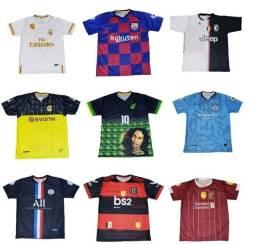 Camiseta de times nacionais e internacionais a R$ 29,90 cada - Ituverava