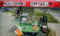 Vendo carroça de caldo de cana