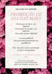 Promoção de dia das Mães!!