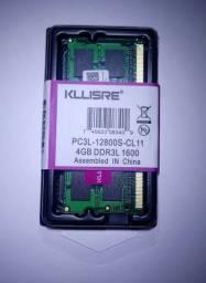 Memória ram KLLISRE 4GB DDR3L 1600MHz