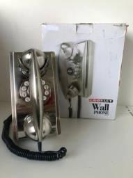 Telefone de parede Crosley CR55-BC