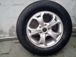 1 pneu mais roda aro 16
