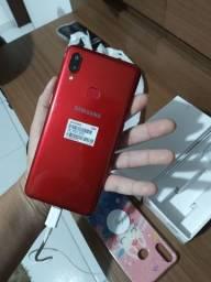 Samsung a 10s novo de mulher