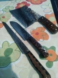 Kit faca artesanal